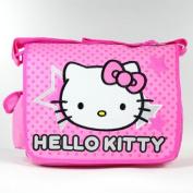 Sanrio Hello Kitty Stars and Polka Dot Large Messenger Bag - Backpack Girls Kids