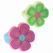 US Toy Company JA631 Flower Rubber Rings