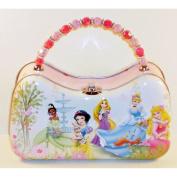 Disney Princess Garden Scoop Purse Tin With Beaded Handle