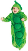 Rubie's Costume Co Deluxe Baby Bunting, Pea In The Pod Costume, 1 To 9 Months