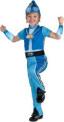 Kid's Deluxe Lazy Town Sportacus Costume (Size