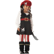 California Costumes Precious Lil' Pirate Girl's Costume Toddler One Colour