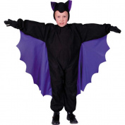 RG Costumes 90078-M Cute-T-Bat Costume - Purple Wings - Size Child Medium 8-10
