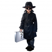 Jr. Secret Agent with Accessories, size Small ages 5-8
