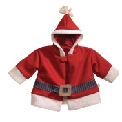 Gund Infant Soft Fleece Santa Coat with Hood