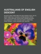 Australians of English Descent