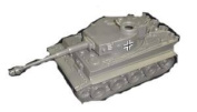 Classic Toy Soldiers WWII German Tiger Tank 1/38 Scale