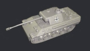 Classic Toy Soldiers WWII German Panther Tank in 1/38 scale