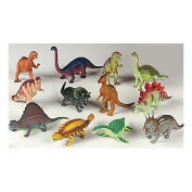 "12 piece Large Assorted Dinosaurs - Toys 5-7"" Larger Size Dinosaur Figures"