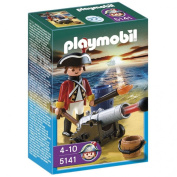 Playmobil 5141 Redcoat Guard with Cannon