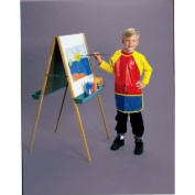 School Smart Vinyl Smock For Full Protection - 6-8 years old