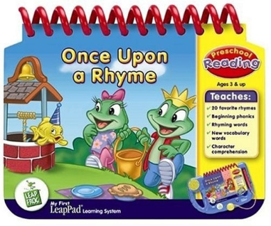 LeapFrog Once Upon A Rhyme - My First Leappad Interactive Book