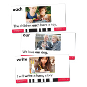 Educational Insights Language TutorCard Set More Sight Words, MultiColor