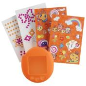 Tamagotchi Connexion V 5 Tamagotchi Deco-ratchi Kit - New Skin Colour and Memetchi stickers