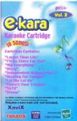Xavix E Kara Karaoke Cartridge Volume 2