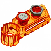 Takara / Tomy Beyblades Japanese Metal Fusion Accessory #Bb85 Metal Face Bolt 2Pack Orange