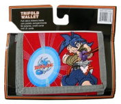 Beyblade Red Action Trifold Wallet - Red [Toy]