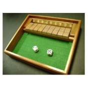 Shut the Box Game - Wooden