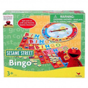 Elmo 17cm X14cm X3.8cm Boxed Bingo Case Pack 24