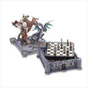 SWM 37128 Dragon and Knight Chess Set
