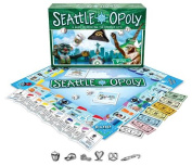 Seattle Opoly Board Game