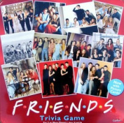 Friends Trivia Game in Collectible Red Tin