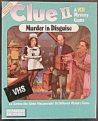 Clue II Murder in Disguise - A VCR Mystery Game