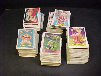 Garbage Pail Kids lot of 100 Random Old Series Cards