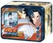 Naruto Shippuden Card Game Unbound Power Collector Tin Set Sasuke Uchiha