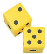 Champion Sports 15cm Coated Foam Dice