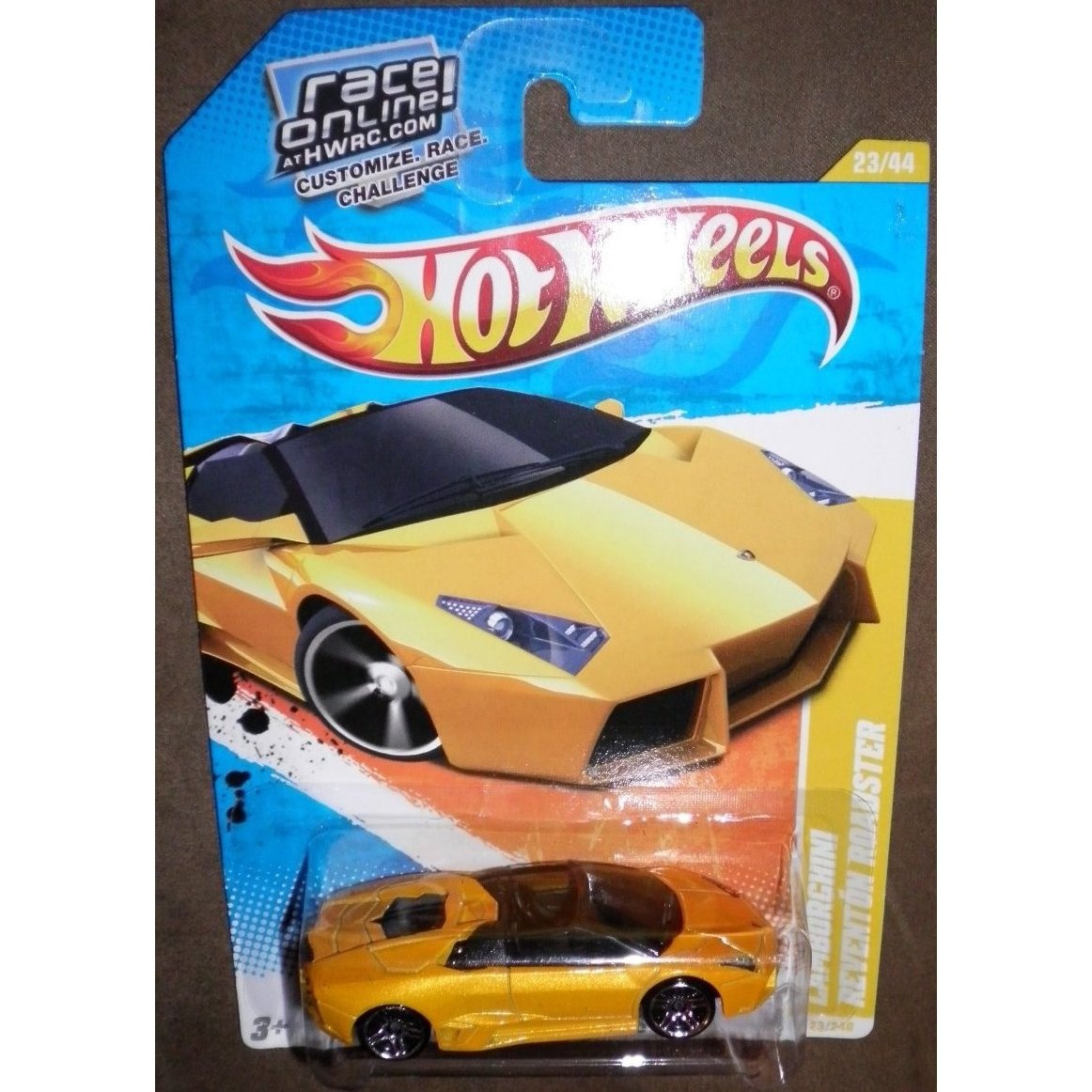2011 Hot Wheels New Models 23 240 Yellow Gold Orange Lamborghini
