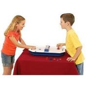 International Playthings P25037 Tabletop Air Hockey