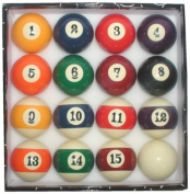 Trademark Billiard Pool Ball Set With Big Number Display