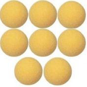 8 Official Yellow Foosballs Tornado Dynamo Shelti