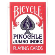 United States Playing Cards 1001023 Bicycle Jumbo Pinochle Playing Cards
