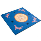 Mahjong Blue Table Cover