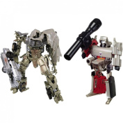 Transformers Chronicles CH-02 G1 Megatron Reissue and Voyager Movie Megatron