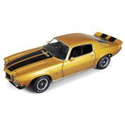 1/18 '71 Chevy Camaro Z28, Placer Gold