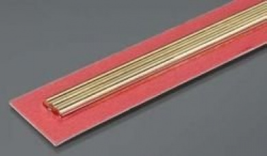 Round Brass Rod, 3 mm Diameter (3)