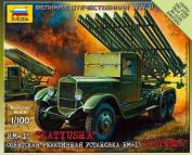 Zvezda Models 1/100 Katyusha - Soviet Rocket Launcher