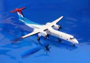 Gemini Jets Luxair Q-400 1:400 Scale