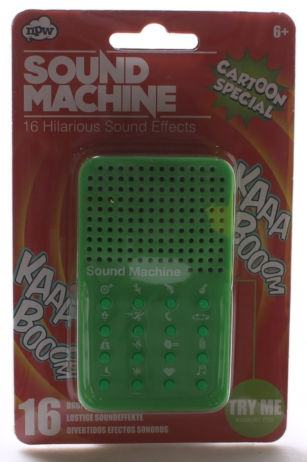 Cartoon Special Sound Effects, 16 Sounds - Sound Machine Cartoon Special 16  Sound Effects | PrestoMall - Action Figures