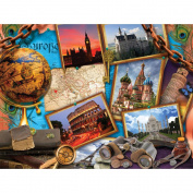 Encylopaedia Britannica - Majestic Jigsaw Puzzles - Travel
