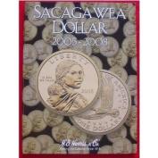 NEW HARRIS SACAGAWEA DOLLAR 2005 2008 COIN FOLDER 2943