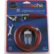 Paasche H-CARD Single Action Airbrush Kit