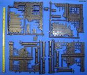 28mm Gothic City Building Ruins Set 1