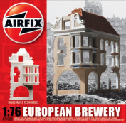 Airfix A75008 German Ruin Brewery 1:76 Scale Unpainted Resin Building