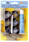 Military Colours Acrylic Paint Pot Set
