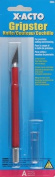 X-Acto Gripster with Cap, Red, Carded
