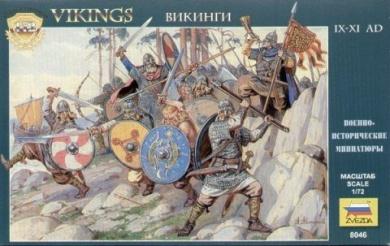 1/72 9th-11th Century Viking (20)